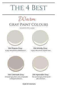 popular gray paint colors